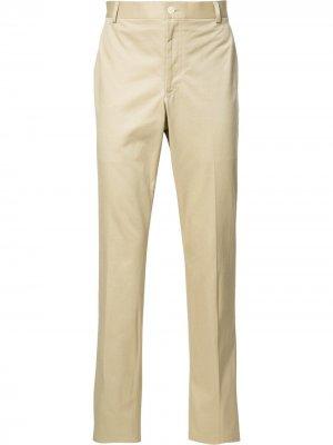 Классические брюки Thom Browne. Цвет: нейтральные цвета