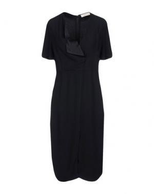 Платье до колена BA&SH. Цвет: черный