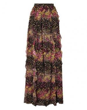 Длинная юбка GIAMBATTISTA VALLI. Цвет: черный