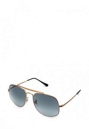 Очки солнцезащитные Ray-Ban® RB3561 197/71. Цвет: золотой