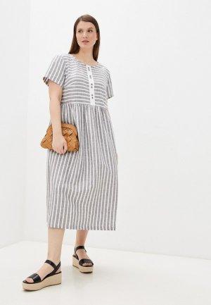 Платье Electrastyle. Цвет: серый
