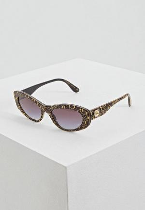 Очки солнцезащитные Dolce&Gabbana DG4360 32148G. Цвет: золотой
