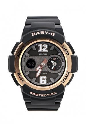 Часы Casio Baby-G BGA-210-1B. Цвет: черный
