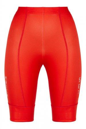 Красные спортивные шорты David Koma. Цвет: красный