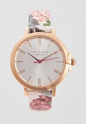 Часы Ted Baker London. Цвет: розовый