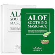 Успокаивающая маска для лица Aloe Soothing Mask Pack - 10 штук в упаковке Benton