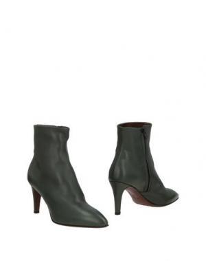 Полусапоги и высокие ботинки AGL ATTILIO GIUSTI LEOMBRUNI. Цвет: темно-зеленый