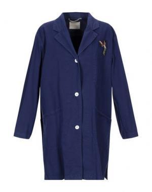 Легкое пальто MOMONÍ. Цвет: синий