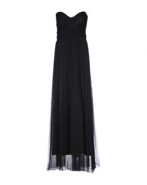 Длинное платье JASMINE DI MILO. Цвет: черный