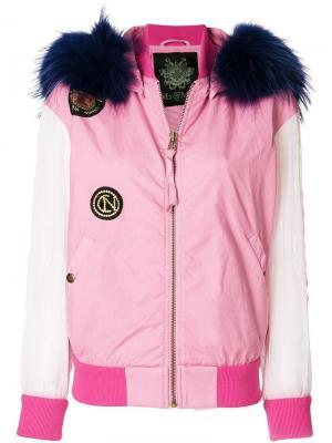 Куртка-бомбер с нашивками Mr & Mrs Italy