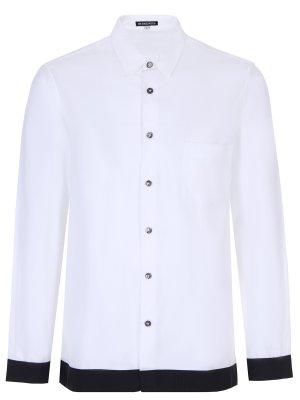 Рубашка Regular Fit хлопковая ANN DEMEULEMEESTER