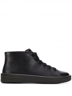 Courb lace-up leather boots Camper. Цвет: черный