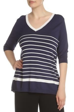 Пуловер ROSANNA PELLEGRINI. Цвет: темно-синий