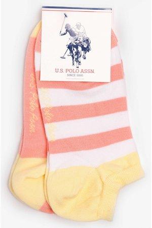 Носки U.S. Polo Assn.. Цвет: vr004 желтый