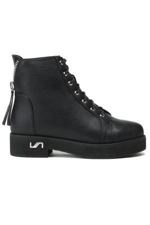 Ботинки Daze. Цвет: черный