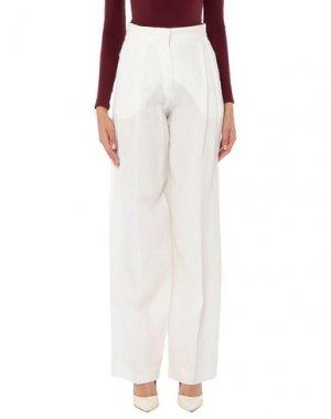 Повседневные брюки SONIA RYKIEL. Цвет: слоновая кость