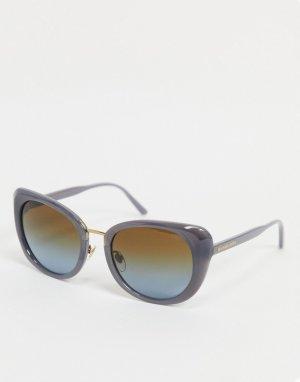Солнцезащитные очки кошачий глаз Michael Kors-Серый Kors