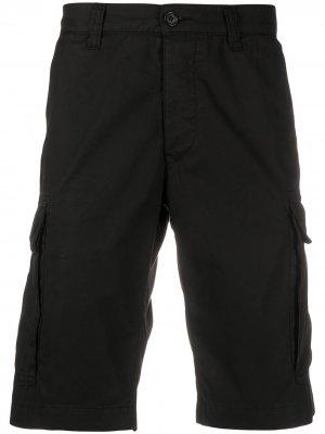 Шорты-бермуды с боковыми карманами Aspesi. Цвет: черный