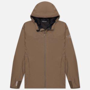Мужская куртка Solano Gore-Tex Hoody Arcteryx. Цвет: коричневый