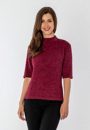Джемпер S&A Style. Цвет: бордовый