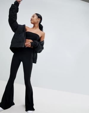 Расклешенные брюки -Черный Fashionkilla