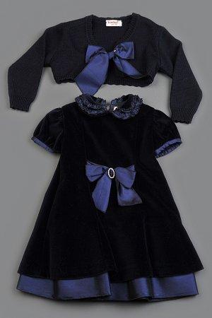 Комплект: платье, болеро Bimbalo. Цвет: не указан