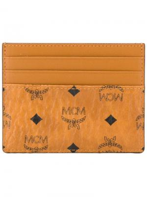 Зажим для денег Visetos MCM. Цвет: коричневый
