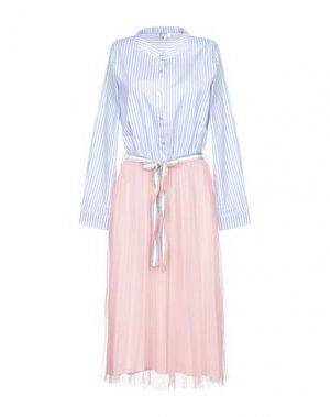 Платье до колена BRIGITTE BARDOT. Цвет: небесно-голубой
