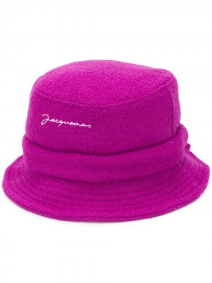 Панама Le Bob Jacquemus. Цвет: розовый