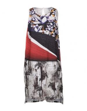 Короткое платье CLOVER CANYON. Цвет: фиолетовый