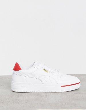 Бело-красные кроссовки Thunder CA-PRO-Белый Puma