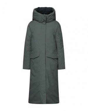 Легкое пальто ELVINE. Цвет: зеленый-милитари