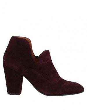 Ботинки CHIE MIHARA. Цвет: красно-коричневый