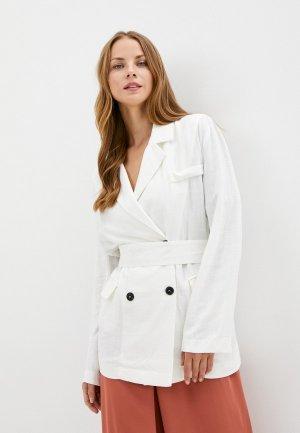 Жакет B.Style. Цвет: белый