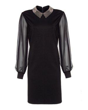 Платье Debaser 46 черный John Richmond. Цвет: черный