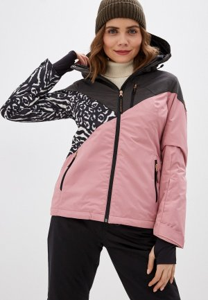 Куртка горнолыжная Brunotti. Цвет: розовый