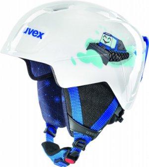 Шлем детский Manic Uvex. Цвет: белый