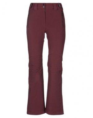 Повседневные брюки J. LINDEBERG. Цвет: красно-коричневый