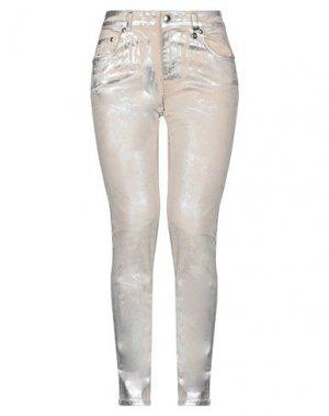Повседневные брюки ANGELO MARANI. Цвет: песочный
