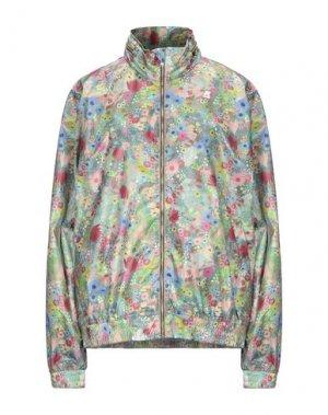 Куртка K-WAY. Цвет: зеленый