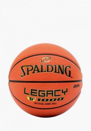 Мяч баскетбольный Spalding TF-1000. Цвет: оранжевый
