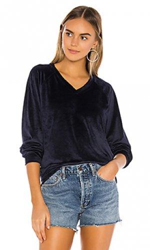 Пуловер Bobi. Цвет: синий