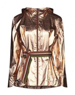 Куртка MALÌPARMI. Цвет: медный