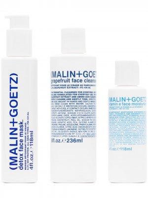 Подарочный набор Saving Face MALIN+GOETZ. Цвет: белый