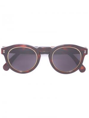 Солнцезащитные очки Leonard Ring Illesteva. Цвет: коричневый
