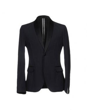 Пиджак PAOLO PECORA. Цвет: темно-синий