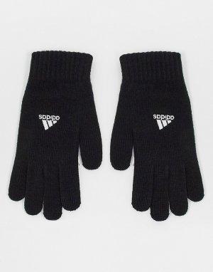 Черные перчатки adidas Football Tiro-Черный performance