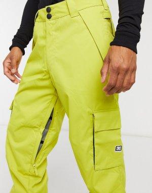 Зимние брюки оливкового цвета Banshee-Желтый DC