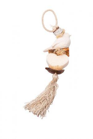 Декоративная косичка из мыла La Savonnerie de Nyons. Цвет: белый
