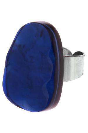 Кольцо Culture Mix. Цвет: синий